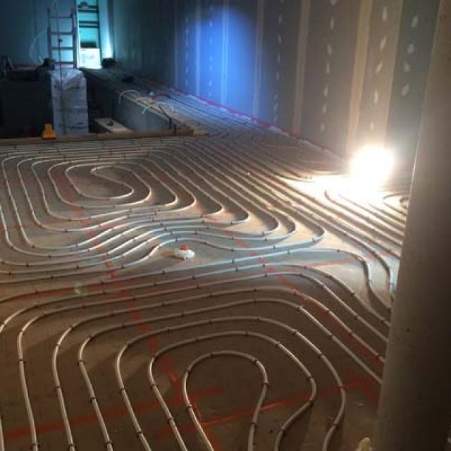 Installation plancher chauffant près de Corbas